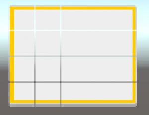Empty space between tiles in Unity
